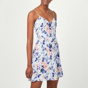 French Connection Armoise Floral Cami Dress Sz 8